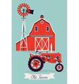 Old Farm vector image