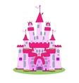 Pink Castle - vector image