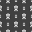 skyscraper icon sign Seamless pattern on a gray vector image