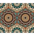 Tile Honey Comb Hex Pattern Flower Mandala vector image