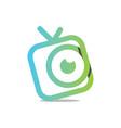 watch tv vector image
