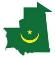 Mauritania Flag vector image vector image