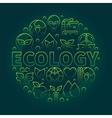 Ecology green symbol vector image