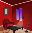 Red Room vector image