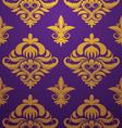 gold-purple-pattern vector image