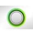 circle green vector image
