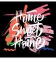 Sweet Home Calligraphy vector image