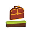 chest box icon image vector image