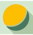 ball icon vector image