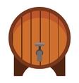 Beer barrel vector image