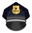 Police cap1 vector image