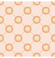 Pretty camomile pattern vector image