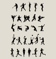 Sport Silhouettes vector image