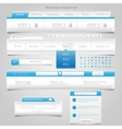 Web Design Element Frame Template vector image