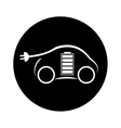 eco friendly car icon image vector image