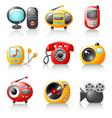 cartoon media home appliance vector image