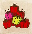 Present Stack Cartoon vector image