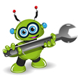 Robot for Repairs vector image