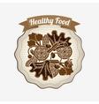 vegetarian food menu vector image