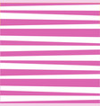 pink and white cute baby striped print vector image