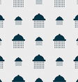 shower icon sign Seamless pattern with geometric vector image