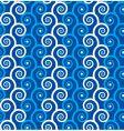 spirals background vector image vector image