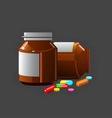 medicine vector image