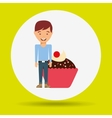 person party celebration vector image