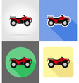 transport flat icons 47 vector image