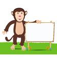 Cheerful monkey Cartoon vector image