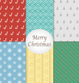 Merry Christmas Pattern Background vector image