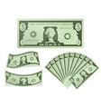 Dollar Bill vector image