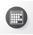 timetable icon symbol premium quality isolated vector image