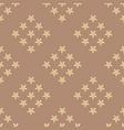 vanilla seamless pattern background vector image