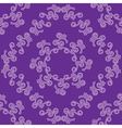 violet seamless decorative pattern vector image