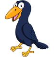Cute Raven cartoon vector image