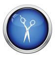 Hair scissors icon vector image
