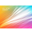Abstract colorfull lighting background vector image