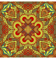hand draw original retro paisley seamless pattern vector image