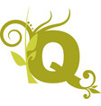 nature q vector image