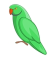Parrot icon cartoon style vector image