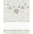 snowflake christmas background EPS 8 vector image