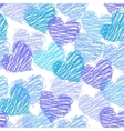 valentine seamless pattern vector image vector image