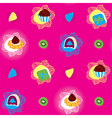 Candies Bright Seamless Pattern vector image