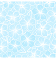 Beautiful seamless background of white and blue vector image