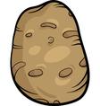 potato vegetable cartoon vector image