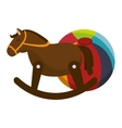 cute kids toys icon vector image