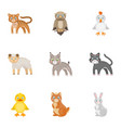 farm zoo ecology and other web icon in cartoon vector image