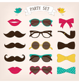 Party set vector image
