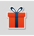 shopping and gift design vector image